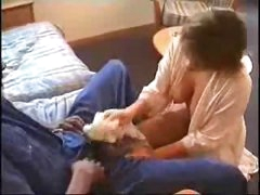 Cheating young wife with a black lover