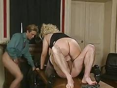 German BBW double screwed