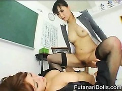 Asian Futanari Teen Nympho!