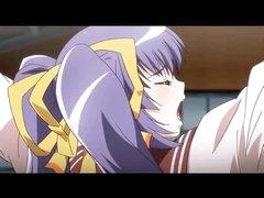 Bound hentai girl double penetration