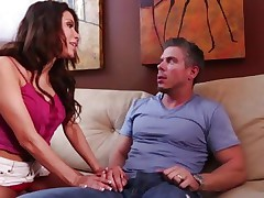 Sexy Alexa Nicole comes onto this horny hunk