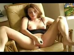 Hot wife masturbates and has a nice orgasm