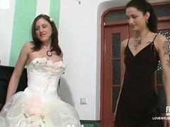 Emmie&Jaclyn nasty nylon movie scene