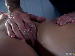 french babe oiled and wazoo fucked