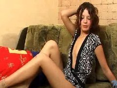 Redhead tight legal age teenager Madeline sh...