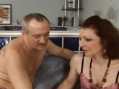 sexy and hairy  mature fuck anal assfuck troia takes hard jock in the arse all the way tits