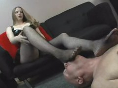Master angel wishes him to take up with the tongue her feet